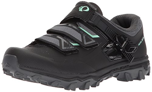 Pearl iZUMi Women's W X-Alp Summit Cycling Shoe, Black/Black, 39.0 M EU (7.5 US)