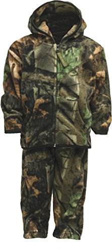 TrailCrest Toddler Two Piece Fleece Jacket & Pants Set 4T, Camo