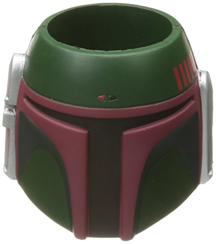 ICUP Star Wars Boba Fett Helmet Molded Huggie/Koozie, (Helmet For Disabled)