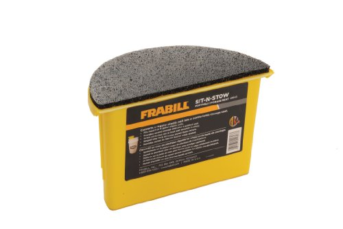 Frabill Sit-N-Stow Storage Seat (Fishing Ice Seats)