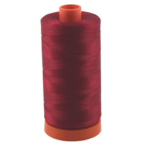 (Aurifil Thread 2260 WINE Cotton Mako 50wt Large Spool 1300m)