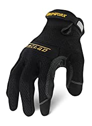 Ironclad Bgw 02 S Gripworx Series Gloves Black Small By Ironclad
