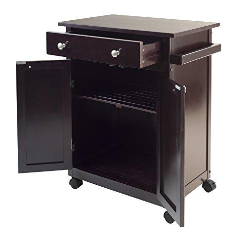 Review WINSOME Savannah Kitchen Cart