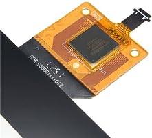 Color : Black Monitor de Pantalla Plana 10.1  Pulgada//Ajuste for Lenovo A7600-F A7600-H Tab A10-70 Panel de Pantalla t/áctil Digitalizador de reemplazo de Piezas de reparaci/ón de Vidrio