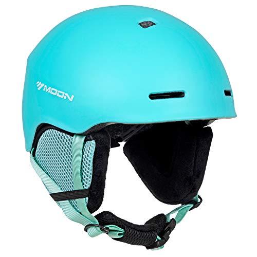 MOON Ski Helmet Men Women Snowboard Helmet Snow Helmet, ASTM CE Certified 12 Vents 400g 4 Colors
