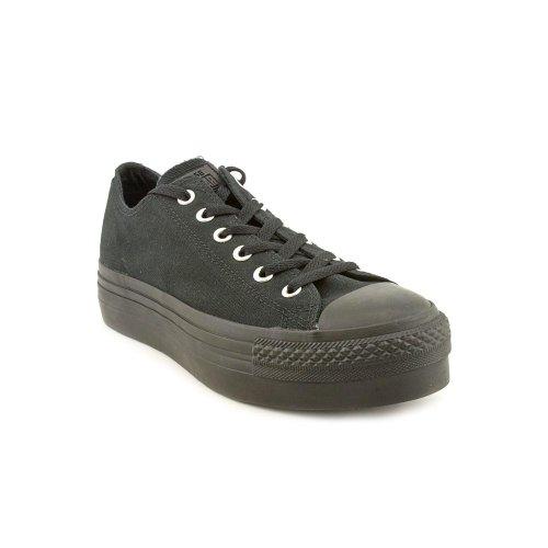Converse Chuck Taylor All Star Ox Platform - Zapatillas para mujer Black