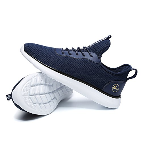 Sneakers Sports Baskets Homme Course de Fitness 2 Shoes Chaussures 39 Outdoor 48 Running Gym bleu IfwqwAC