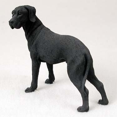 - Great Dane Black w/Uncropped Ears Standard Figurine