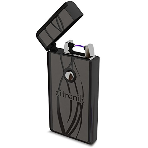 Coil Lighters USB Rechargeable Windproof Arc Lighter By Zitronik