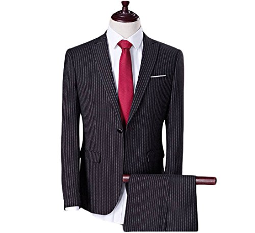 Love Dress Thin Men's Two-Piece Classic Fit Suit Jacket, Pants 5XL by Love To Dress