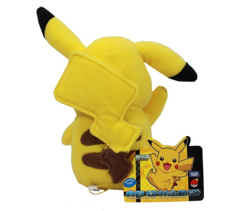Official-Pokemon-Best-Wishes-Plush-Toy-7-Pikachu-Japanese-Import-japan-import