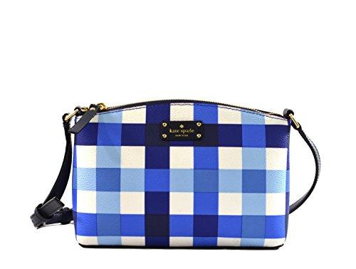 Kate Spade New York Grove Street Printed Millie Crossbody Handbag, Pacific Gingham by Kate Spade New York
