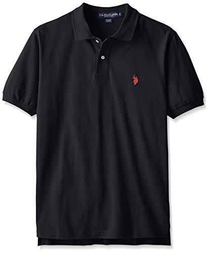 U.S. Polo Assn. mens Classic Polo Shirt (Color Group 1 of 2), Black, Small