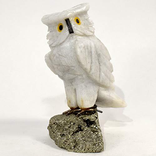 Hand Carved Stone Bird - 3.5