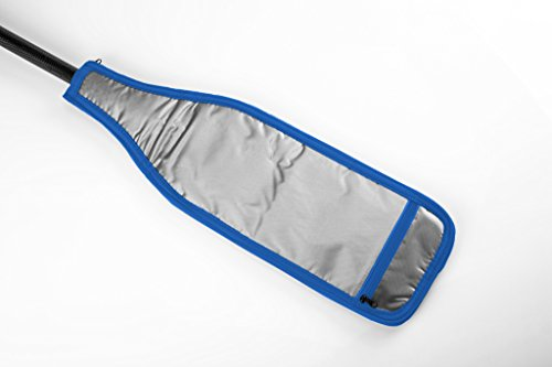 Hornet Watersports Blade Cover for Dragon Boat Paddle (Black/Blue/Silver) … by Hornet Watersports (Image #3)