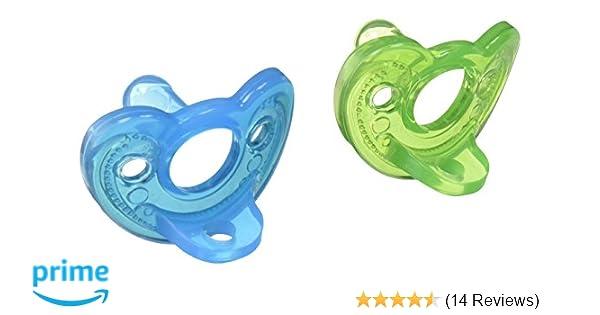 GumDrop Boy Pacifier in Green / Blue