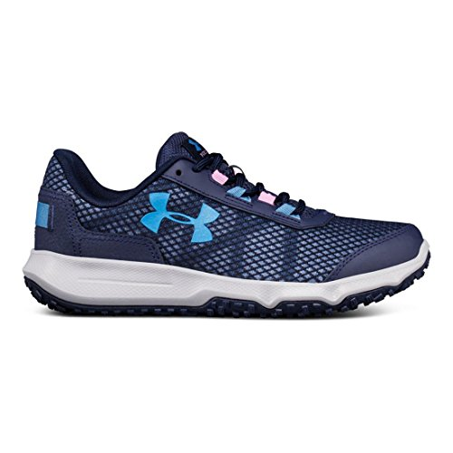 Under Armour Women's Toccoa Running Shoe Mdn/Overcast Gray/Urban Blue