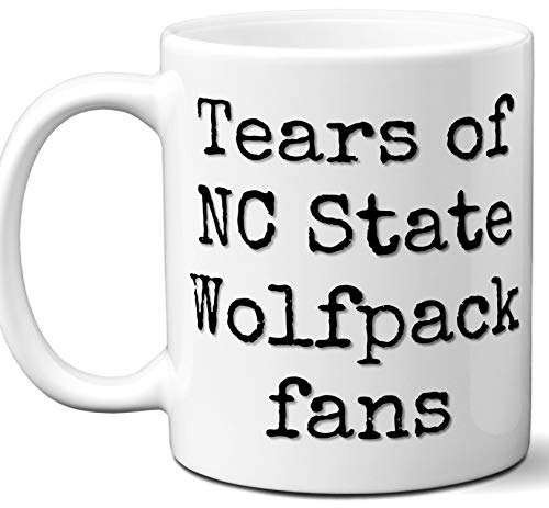 Funny NC State Wolfpack Suck Coffee Mug. Tears of Fans. Best Novelty Gift Idea For Anyone Who Says I Hate The NC State Wolfpack. 11 - Wolfpack Pajamas Nc State