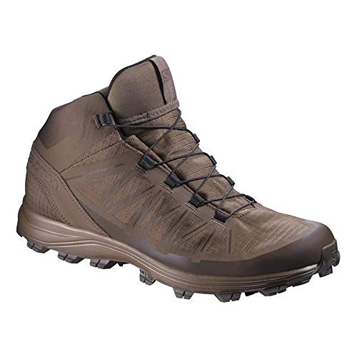 Salomon Men's Forces Speed Assault Boots, Burro/Absolute Brown, Size 10 US, 379501