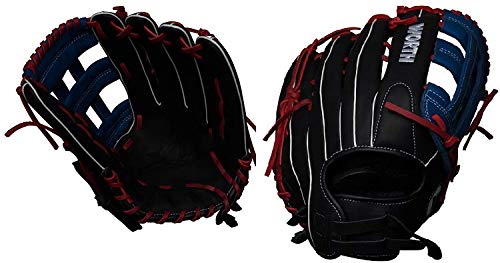 (Worth XT Extreme Slowpitch Softball Glove, 13.5 inch, Pro H Web, Right Hand Throw)