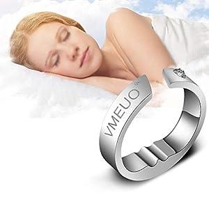 5 tailles bague anti-ronflement, Bouchon, Respiration de sommeil Traitement de massage par acupression, Améliorer…