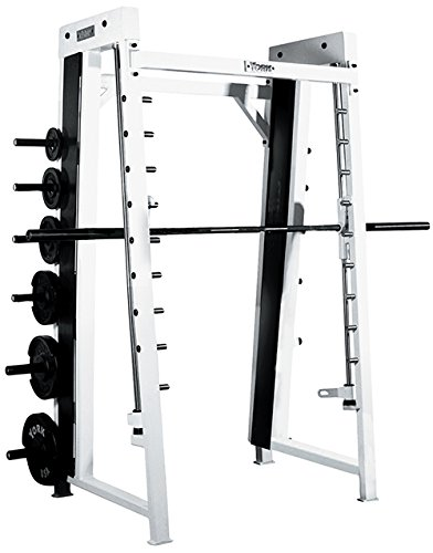 York Barbell 54033 Counter Balanced Smith Machine44; White by York Barbell