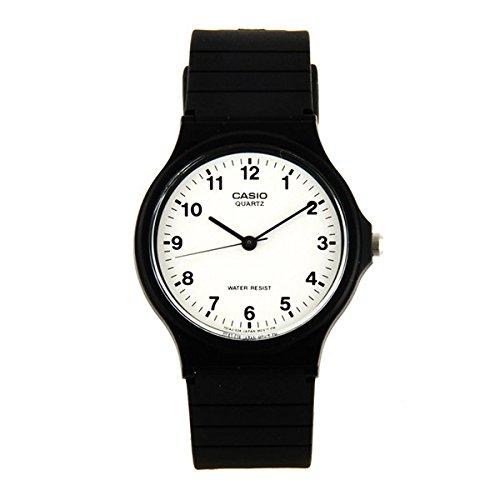 Casio - Reloj Pulsera plástico negro pila: AG4 - Materiales: plástico - sin níquel - cantidad: 1 reloj: Amazon.es: Relojes