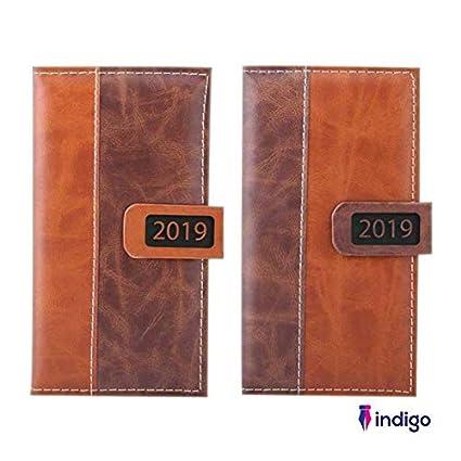 Indigo 2019 - Agenda semanal (piel sintética, cierre ...