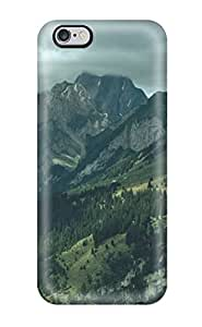 Fashionable HApOYlq12254ePWot Iphone 6 Plus Case Cover For Powerfully Mountains Forest Amp Digital Protective Case