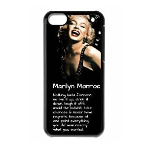 Marilyn Monroe Brand New Cover Case for Iphone 5C,diy case cover ygtg-344887