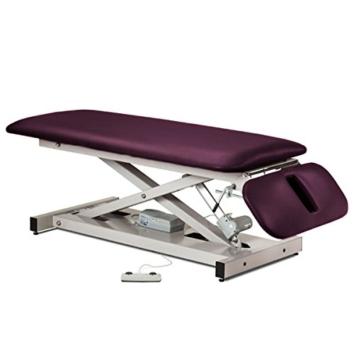 Treatment Exam Table Power height Drop section Space saver Purplegray
