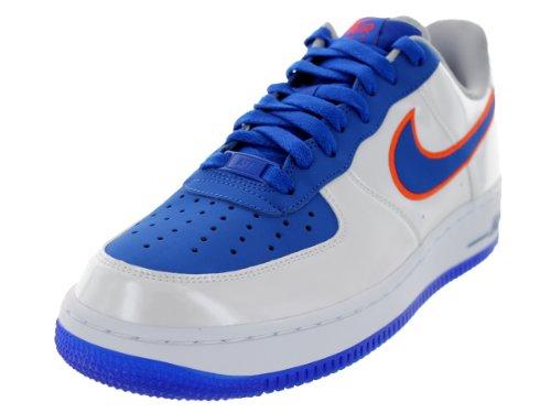 8 Scarpa leggera Nike Bianco Force da Royal Arancione Turf uomini 1 Air US basket Gioco rEt7wt