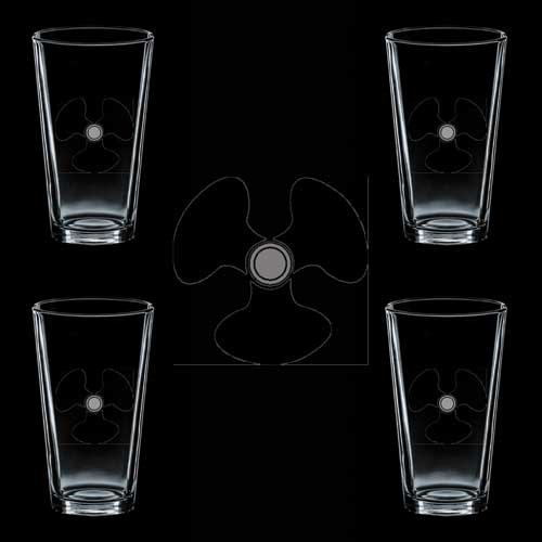 Glasses Machinist (US Navy Rank Rate Machinists Mate (MM) Black 4 GLASS)