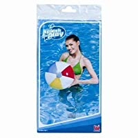 The Home Fusion Company Inflatable Blow Up Panel Beach Ball Swimming Pool Garden Fun Holiday Party