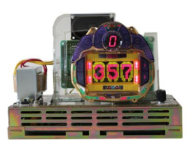 コンパクト卓上パチンコ:レトロ オークス2(サンセイ)自動で回って自動で消化!