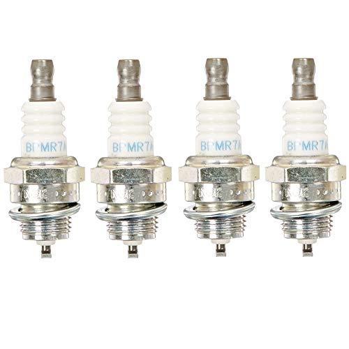 NGK (6703) BPMR7A SOLID Standard Spark Plug, Pack of 4