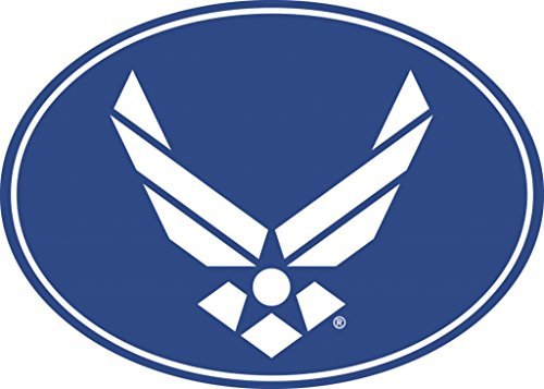 (US Air Force Wings Magnet For Car or Home 3-3/4 by 5-1/4)