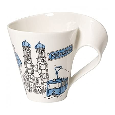 Porcelana Premium 300 ml Villeroy /& Boch Cities of the World Taza de caf/é Berl/ín Blanco//Colorido