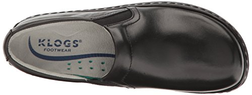 Klogs Usa Womens Naples Mule Nero Liscio