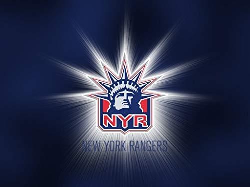 New York Rangers Logo Sports Professional Ice Hockey Team New York City Edible Cake Topper Image ABPID09157 - 1/4 sheet