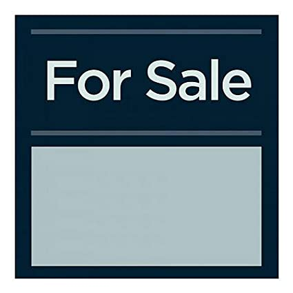 Basic Navy Window Cling 5-Pack for Sale 24x24 CGSignLab