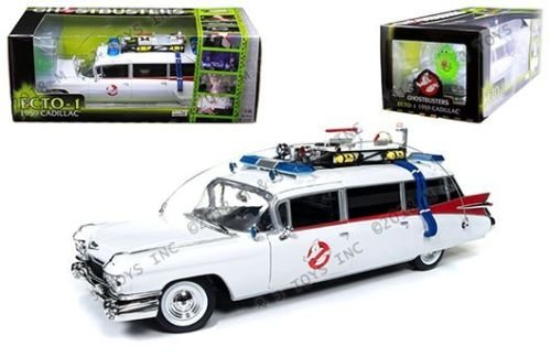 Cadillac Ambulance 1959 (New 1:18 AUTO WORLD COLLECTION - 1959 Cadillac Ambulance Ecto-1 From