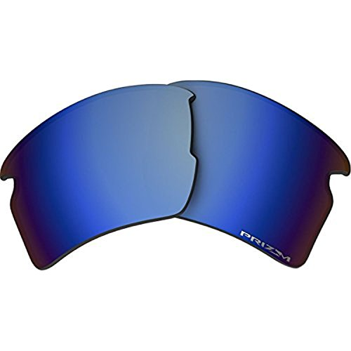 Oakley Flak 2.0 Replacement Lens Prizm Deep Water Pol. & Cleaning Kit - Prizm Lenses 2.0 Oakley Flak