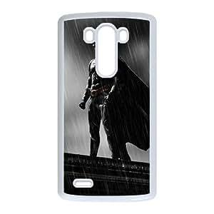 The Dark Knight Batman LG G3 Cell Phone Case White Delicate gift JIS_252539