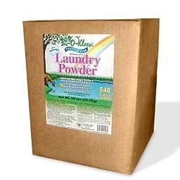 BioKleen 00047 Premium Laundry Powder, 50 lbs Box