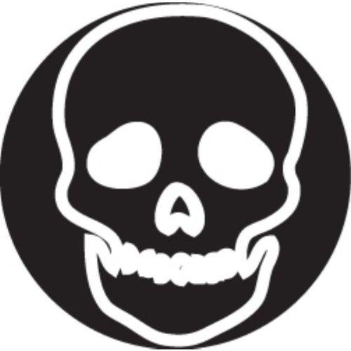 EURO TOOL Elite Design Stamp, Skull | PUN-203.27 (Skull Stamp)