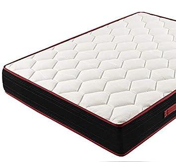 Memory Fresh 3D - Colchón viscoelástico reversible, 90 x 180 cm: Amazon.es: Hogar
