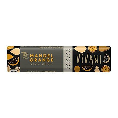 (12 PACK) - Vivani Organic Almond Orange With Rice Milk | 35 x 18g x | 12 PACK - SUPER SAVER - SAVE MONEY ()