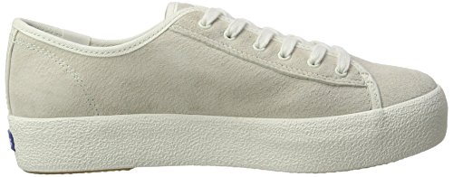 Zapatos Suede Beige Kick Wx Keds Cream Mujer Tpl x7Hw4g