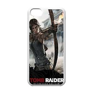 Printed Tomb Raider Lara Croft Case For iPhone 5C NC1Q03282
